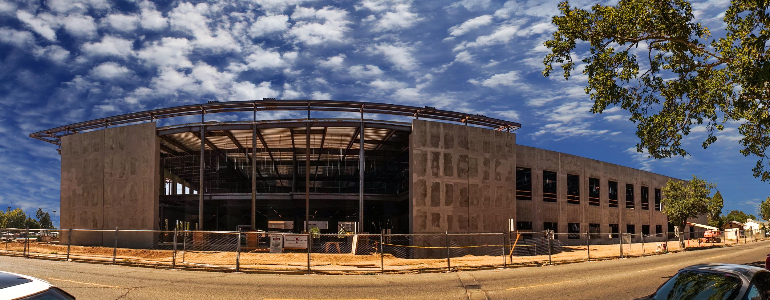The New Tehama County Courthouse
