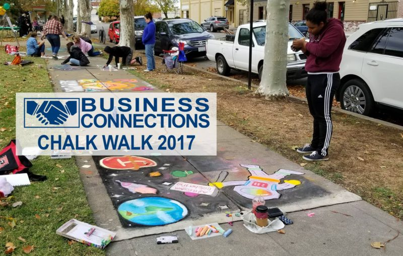 Business Connections Chalk Walk 2017 Photos